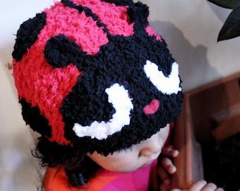 0 to 3m Ladybug Hat Newborn Ladybug Baby Hat Red Bug Hat Baby Shower Gift Newborn Baby Bug Hat Red Black Ladybug Photo Prop
