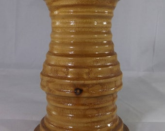 Sassafras Wood Candle Holder
