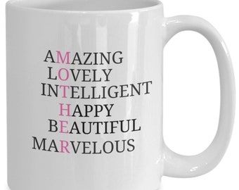 Coffee mug mother, mothers day, mom gift, personalized mug, mothers day gift, happy mothers day, mothers day from son, mom coffee mug, mom