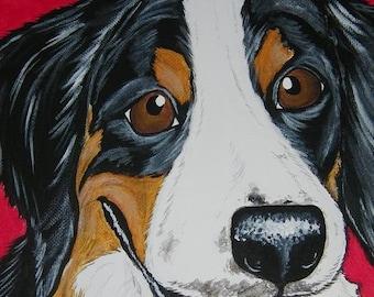 PET Portrait Malerei Custom 8 x 10-Haustier-Verlust, pet-Memorial, pet-Liebhaber-Geschenk