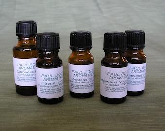 Essential Oils - Cedarwood, Citronella, Clary Sage, Cypress