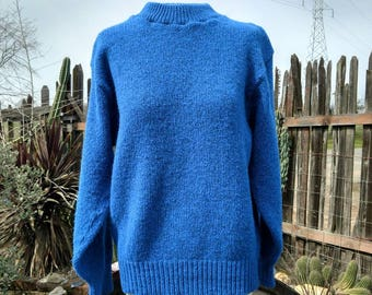 Vintage Pullover Fisherman's Sweater Size Large