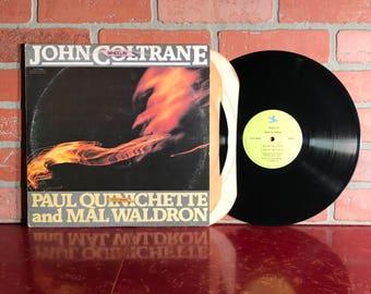 John Coltrane Wheelin' Vinyl Record Album Double LP 1977 Saxophone Band Free Jazz Music Vintage