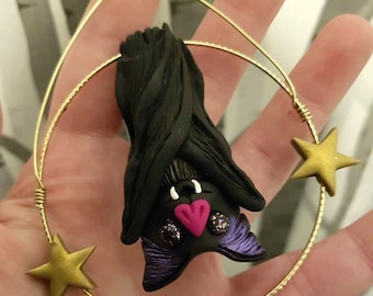 Bat GOREnament, Bat Decoration, Bat ornament, Gothic  Decorations, Gothic Home, Bat Art, Bats.