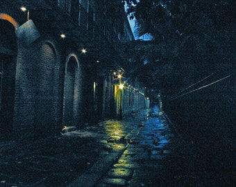 The Alley - Dark Alley - Digital Image Download - New Orleans - Digital License Included