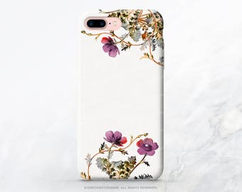 iPhone 8 Case iPhone X Case iPhone 7 Case Vintage Floral iPhone 7 Plus Case iPhone SE Case Tough Samsung S8 Plus Case Galaxy S8 Case C13