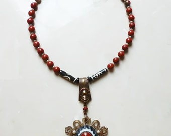 Necklace - Fabulous Red Jasper