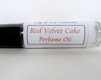 Red Velvet Cake Perfume Oil - Bakery Fragrance