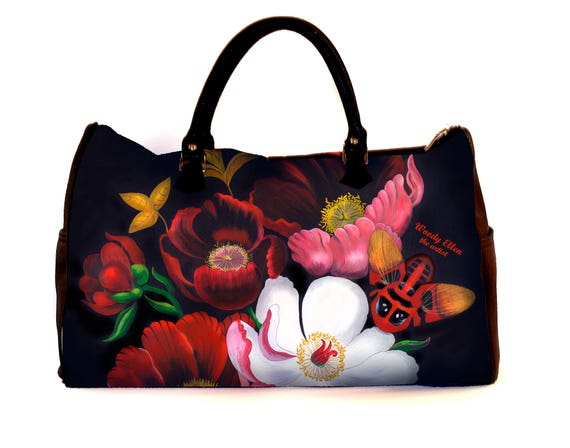 Travel bag, Glorious, weekend bag, birthday gift, gift for her, gift for mom, Woody Ellen handbag, christmas gifts, christmas gift ideas