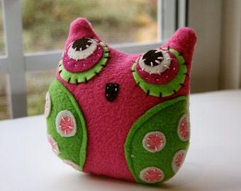 Lil' Pink - Owl Plushie