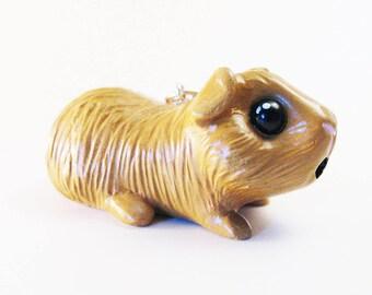 Porte clés personnalisable cochon d'inde