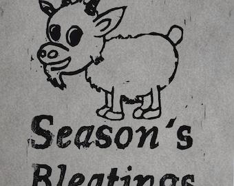 Season's Bleatings