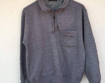 Rudolph Valentino Collar Sweatshirt small logo embroide