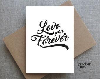 Love Card, Anniversary Card, Wedding Card