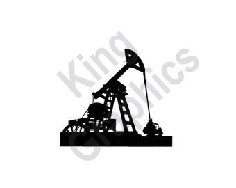 Oil Pump - Machine Embroidery Design