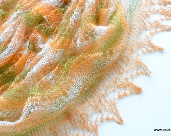 Shoulder towel Russian style shawl lace stole knitted stole Boho wedding wrap lace cover hand knitted ladies Scarf Kid mohair 170 x 70 cm