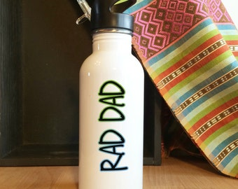 Custom Stainless Steel Water Bottle, for Father's Day, Dad, Daddy, Grandpa, Man
