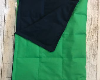 Solid cotton weighted blanket 35X40 & 40X60