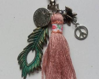Wishes do come true, handmade purse/bag embellishment.