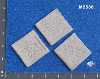 Fill in Tiles  - Kiln Fired Handmade Ceramic Mosaic Tiles for your projects M2536