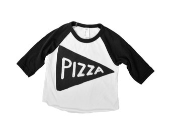 Kids Pizza Shirt, toddler funny children gift for kids, raglan graphic tee kids gift, tmnt funny t-shirt, unisex clothes, pizza lover