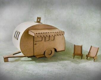 Miniature Camper Kit - Build 2 campers - Putz Camper