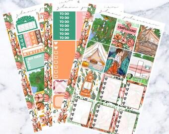Rustic Romance: August Sub Essentials Sticker Kit
