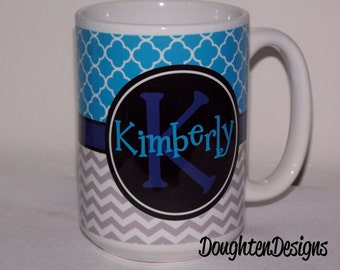Personalized Coffee Cup, Monogrammed Mug, Name cup, Personalized Mug, Name Mug,  Custom Coffee Mug, personalized coffee mug, coffee cup