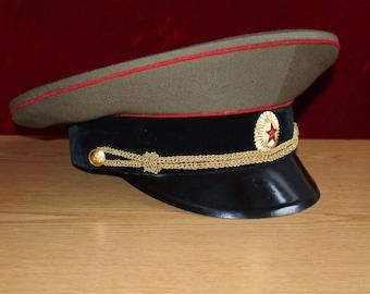 Soviet military uniform. CAP.USSR