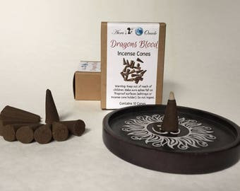Dragons Blood Incense Cones Box of 10