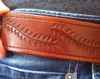 Leather Custom Belts