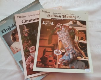 Vintage Counted Cross Stitch Pattern Booklets