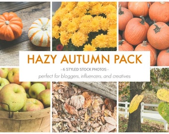 Styled Stock Photos | The Hazy Autumn Photo Pack | Blog stock photo, stock image, stock photography, blog photography