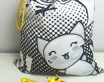 Manga fabric storage bag