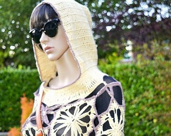 Hooded Poncho creation Minaben Fall 2015
