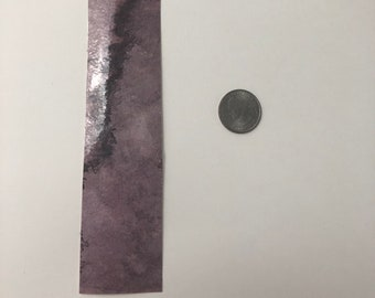 Watercolor Abstract Bookmark