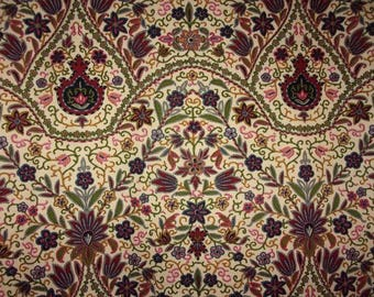Vintage fabric or vintage Indian flower patterns