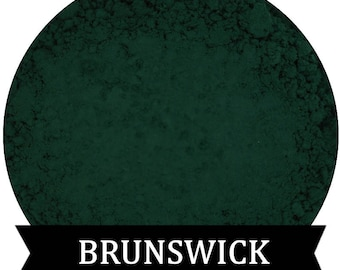 BRUNSWICK Matte DARK Green Eyeshadow