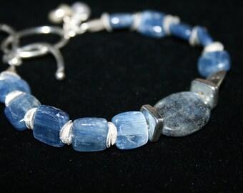 BLINK Kyanite and Sterling Silver Bracelet SOLD