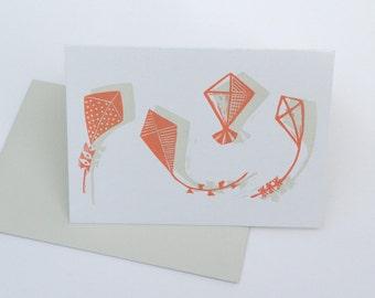 Map kites