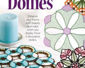 Decorative Doilies In Plastic Canvas Cross Stitch Chart