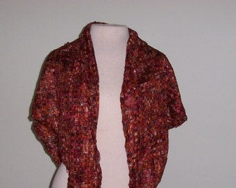 Spring to Fall Ribbon Shawl