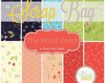 The Front Porch - Scrap Bag Quilt Fabric Strips by Bonnie and Camille for Moda (SC.TFP.SB)
