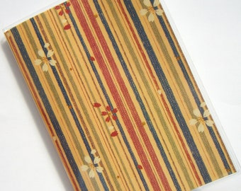 Passport Case Cover Holder -- Japanese Flowers