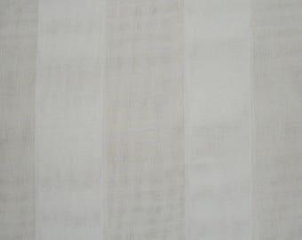 ecru striped sheer wide 300cm wide
