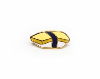 Tamago (Egg) Sushi Enamel Pin