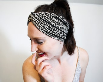 Black Headband Brown Headband Turban Headwrap Thick Headwrap Wide Stretchy Headband Womens Headband Running Yoga Headband Girls Headband