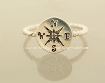 The Original Compass Rope Ring
