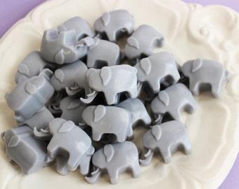 Elephant Soap Set - Soap Favors, Baby Shower, Lavender Soap, Mini Soap, Animal Soap, Kids Soap, Baby Soap, Grey Soap, Party Favors, Circus