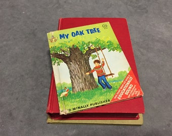 My Oak Tree Vintage Children's Book Hardcover Small Book